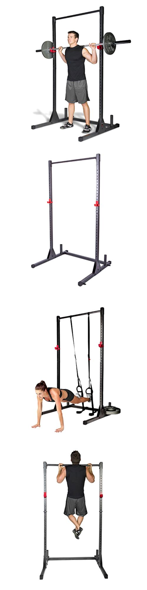 Power Racks and Smith Machines 179815: Home Gym Pull Up Bar Power Rack Exercise Stand Body Building Workout Fitness New -> BUY IT NOW ONLY: $74.05 on eBay!