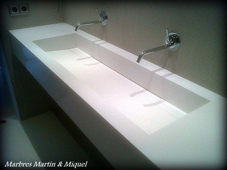 Marbres Martín & Miquel » Lavabos de mármol.