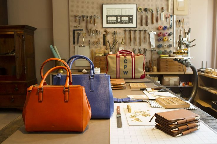 The Anya Hindmarch Bespoke Workshop, 795 Madison Avenue, New York