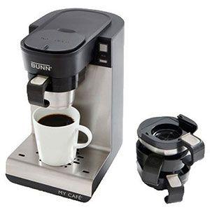 8. BUNN MCU Single Cup Multi-Use Home Coffee Brewer