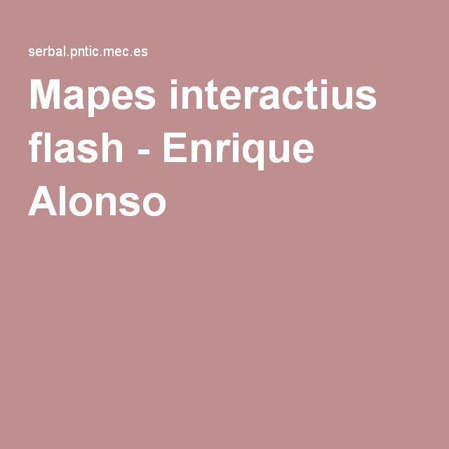Mapes interactius flash