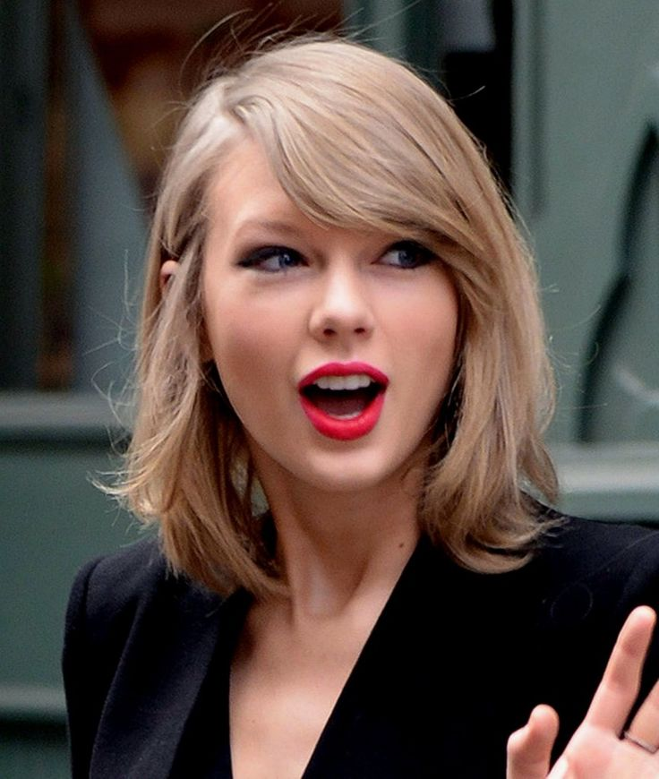 Taylor Swift New Haircut Pictures Blonde Hairstyles 2015