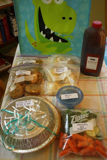New mom care package...need to make this today in case inna goes into labor this weekend!