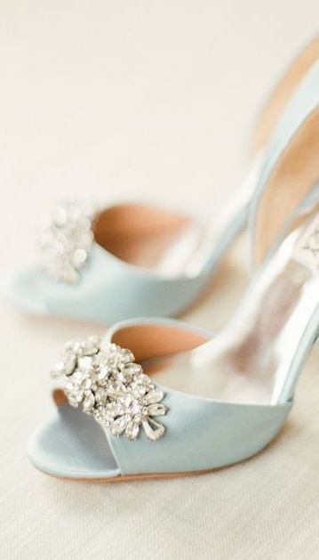 Baby Blue & Crystal Embellishments....Who won't Love...                                                                                                                                                                                 More