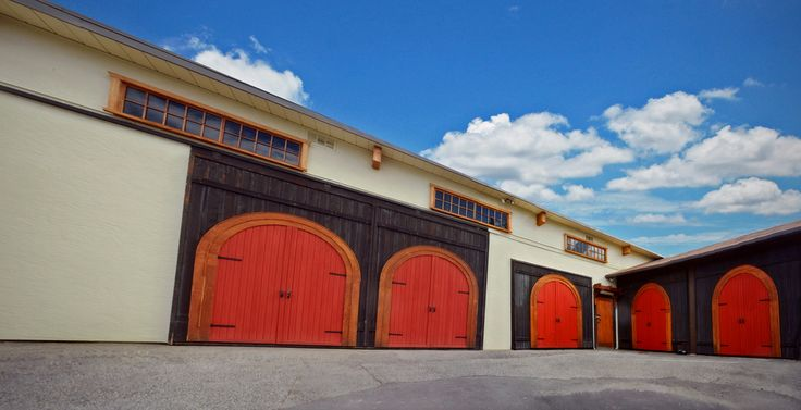 Our big red winery doors!