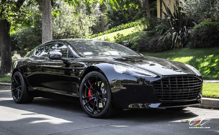 Aston Martin Rapide S with CEC Forged Wheels and Black Out