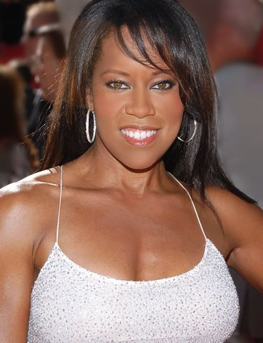 regina king #chest #shoulders