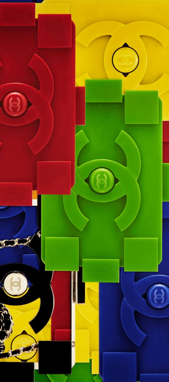 CHANEL Spring/Summer 2013 'Lego' Clutch - By the way, if you like LEGO®…
