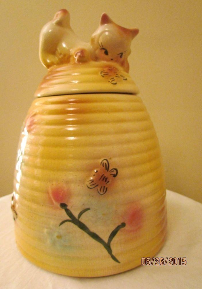402 best cookie jars images on pinterest vintage cookie jars biscuits and cookie jars - Beehive cookie jar ...
