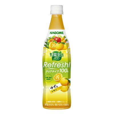 野菜生活100 Refresh! <ゆず&レモン> - 食@新製品 - 『新製品』から食の今と明日を見る!