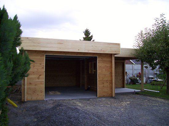les 25 meilleures id es de la cat gorie garage toit plat sur pinterest haus maison toit plat. Black Bedroom Furniture Sets. Home Design Ideas