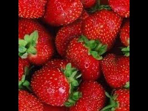 Como extraer semillas de fresa y germinarlas - YouTube