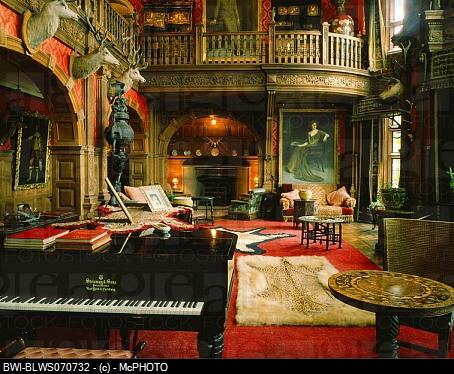 Scottish castle interior music room my future home for Room interior design edinburgh