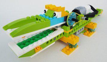 Lego WeDo 2.0 Alligator