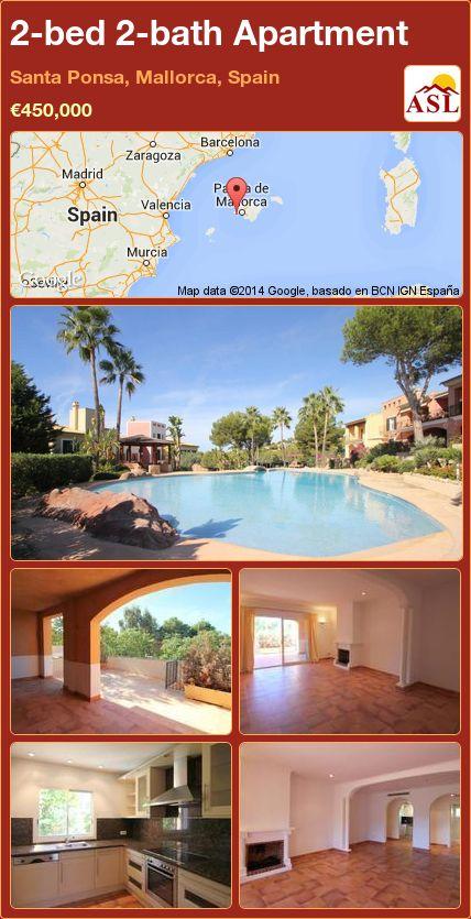 2-bed 2-bath Apartment in Santa Ponsa, Mallorca, Spain € ...