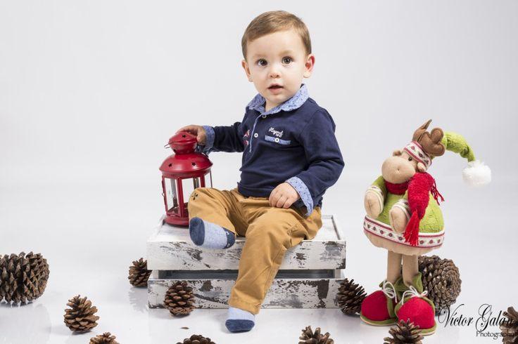 Sesion navideña con los mas pequeños de la casa.