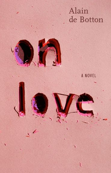 book cover design by Linda Huang - On Love by Alain de Botton