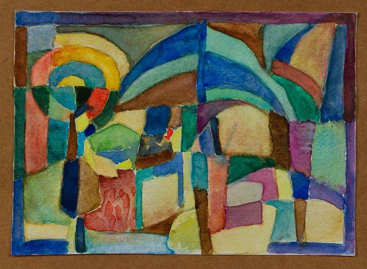 Marina Goldaracena Pinturas: Acuarela