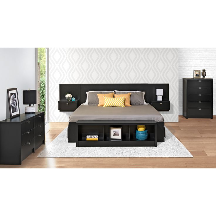 Shop Prepac Furniture  Series 9 Floating Headboard with Nightstands at Lowe's Canada. Find our selection of headboards at the lowest price guaranteed with price match.