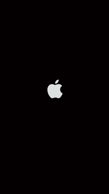Plain Black iPhone Wallpaper