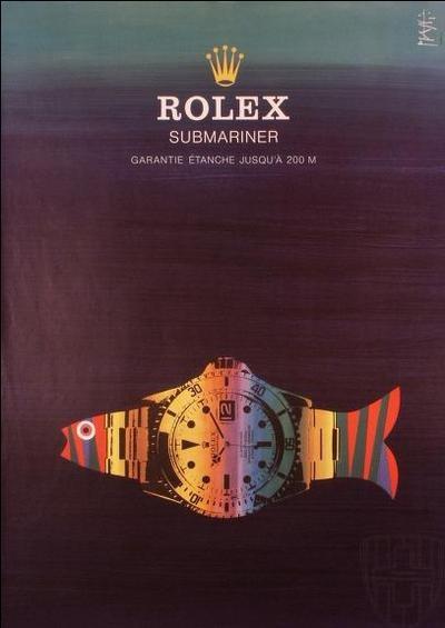 Nice #Rolex #Submariner ad