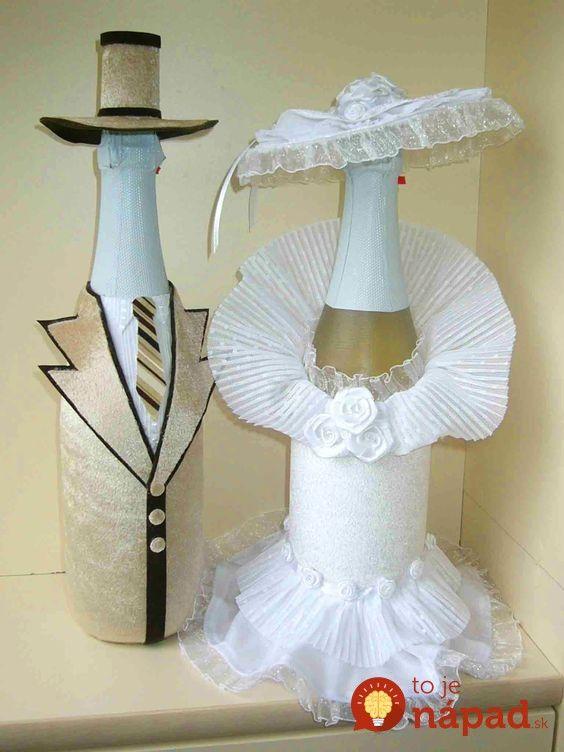 Ak neviete, čím obdarovať novomanželov, tento nápad si určite pozrite!