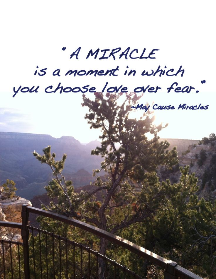 We love this quote from @Gabby Bernstein 's book, May Cause Miracles!  Create some miracles in your life today :)
