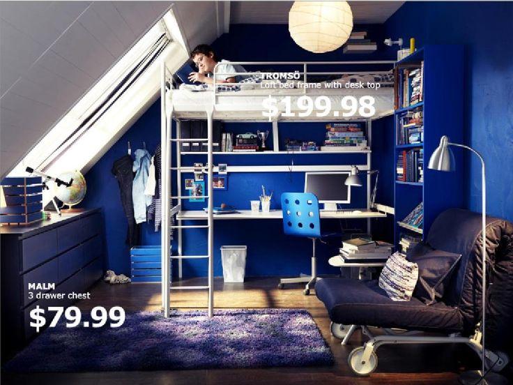 ikea loft bed google search - Schlafzimmerideen Des Mannes Ikea