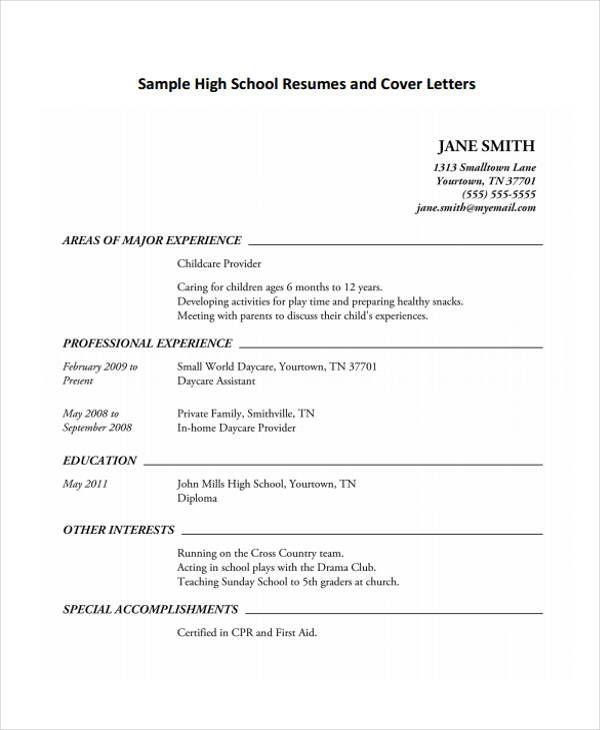 11 Student Curriculum Vitae Templates Pdf Doc Free Curriculum Vitae Template Student Resume Template Resume Format