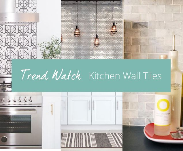 Tiles are an increasingly popular decorating choice for kitchen walls and floors as they offer a cost-effective, low-maintenance and durable solution. Ceramic tiles in particular are hard-wearing and easy to clean (simply use a damp sponge to wipe away dirt and grime) so it's no surprise that for many of us, tiles are the number one kitchen decorating solution.