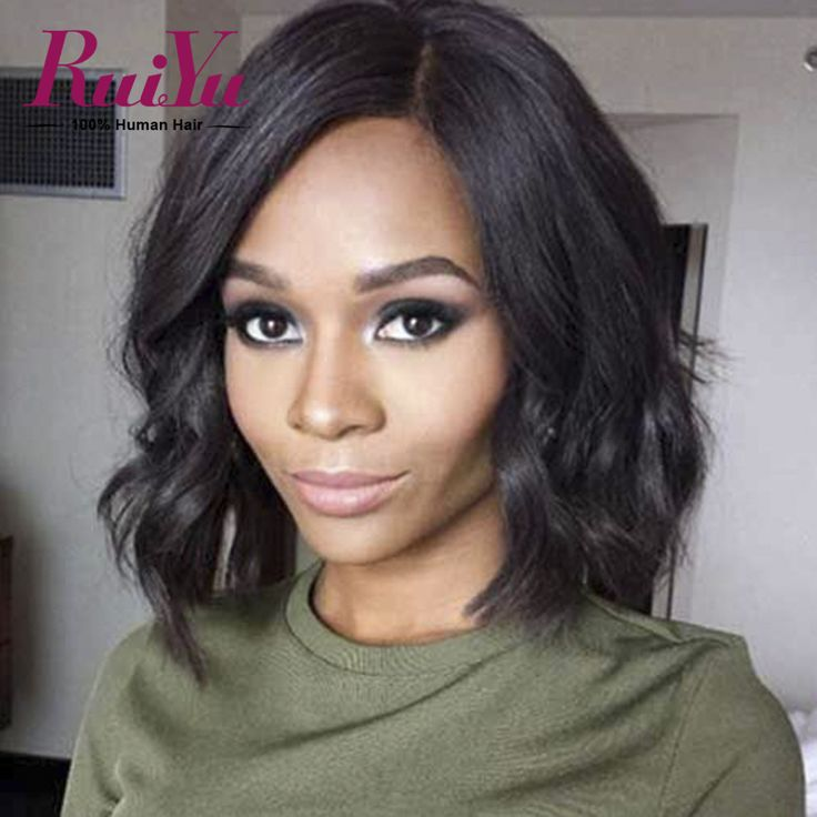 Indian Full Lace Human Hair Wigs Black Women Natural Wave Lace Front Wig Short Lace Front Wigs Human Hair Bob Lace Front Wigs
