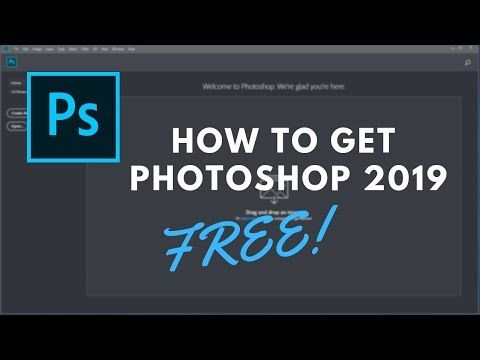 How To Get Photoshop CC 2019 For FREE! | TheVirtualFire