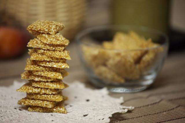 Sweet Sesame Tikkis ... Looks Yum! tilgul (til=sesame ...