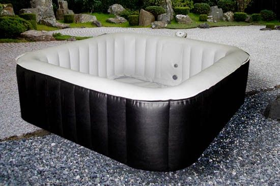 30 best images about spas spas gonflables on pinterest monaco miami - Jacuzzi gonflable carre ...