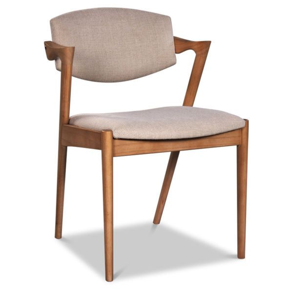 dining chair retro danish scandinavian solid timber chairs
