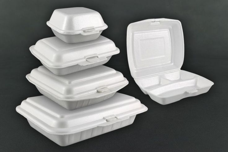 Styrofoam Food Containers