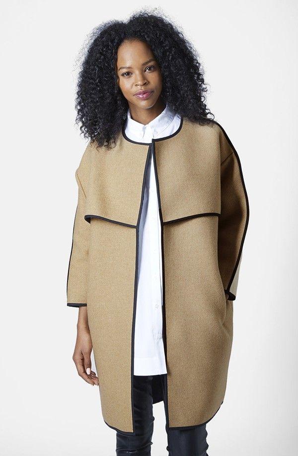 Topshop Blanket Coat
