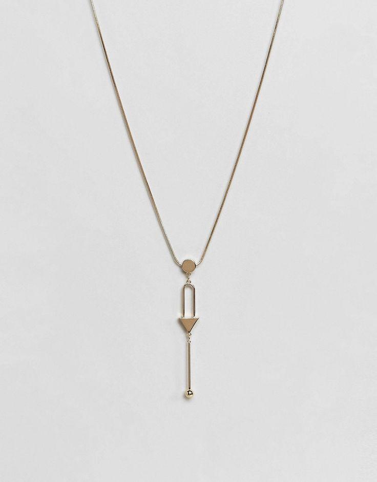 Pieces - Lange Halskette mit Anhänger - Gold Jetzt bestellen unter: https://mode.ladendirekt.de/damen/schmuck/halsketten/goldketten/?uid=dd6d8087-89d3-5a91-8c95-ede323fca126&utm_source=pinterest&utm_medium=pin&utm_campaign=boards #goldketten #schmuck #halsketten #uhren #female #ketten
