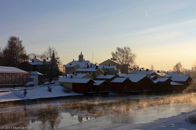 Porvoo Old Town.
