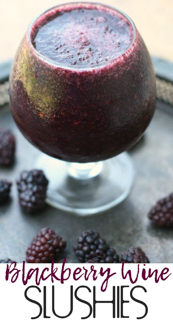 Blackberry Wine Slushies (for Tyrion) | Game of Thrones