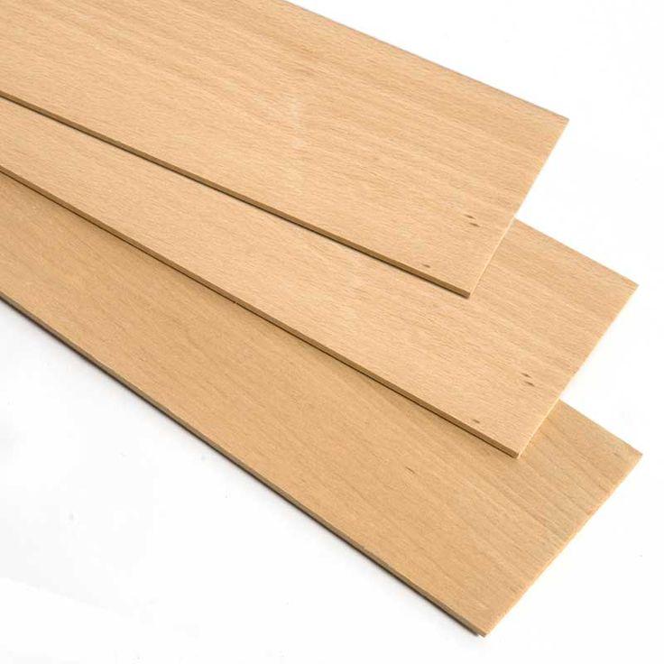 MADERA DE HAYA - Las planchas de madera de haya, debido a su dureza, grano fino y facilidad de entintar y barnizar son muy apreciadas para la elaboración de maquetas y modelos.