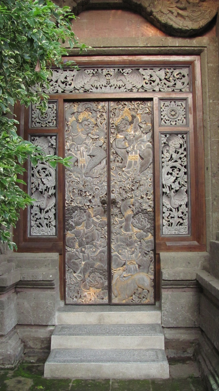 211 best Bali Doors  Entrances images on Pinterest  Front doors, Bali architecture and Bali house