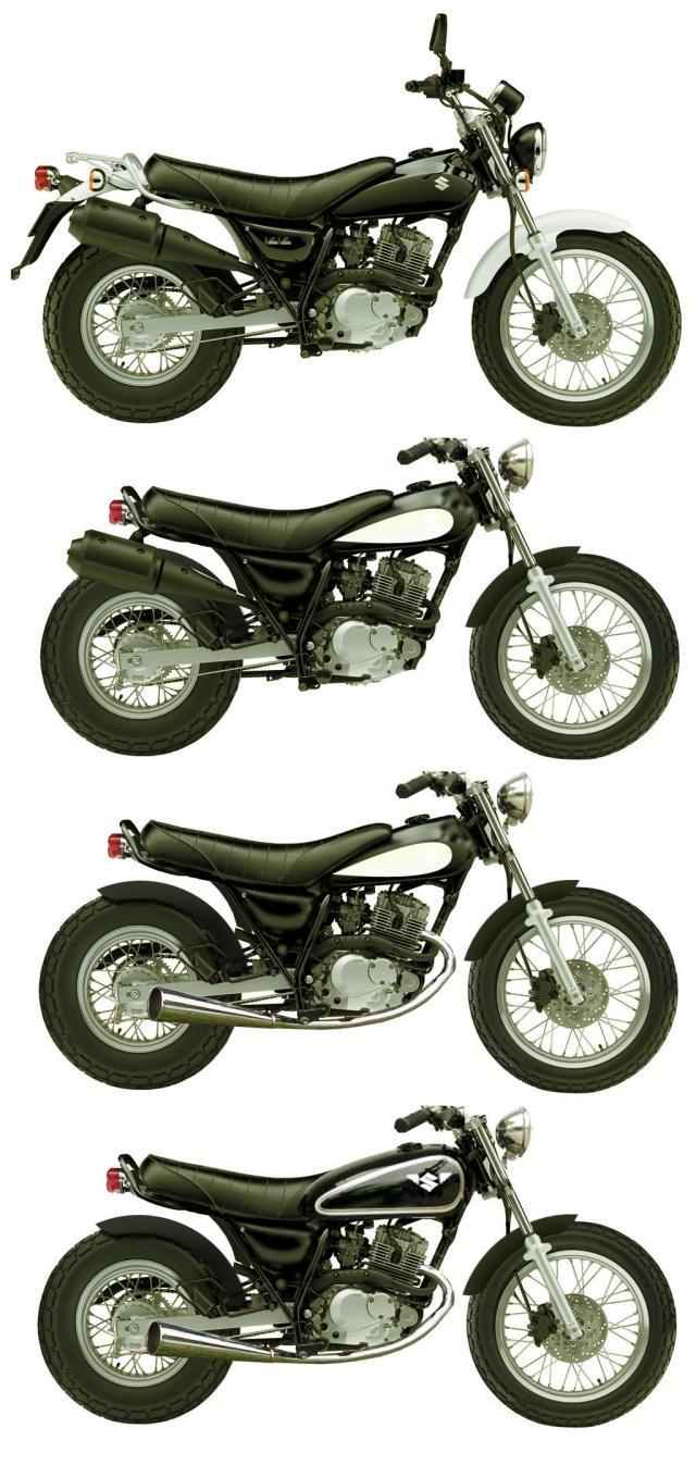 Évolution Suzuki vanvan.