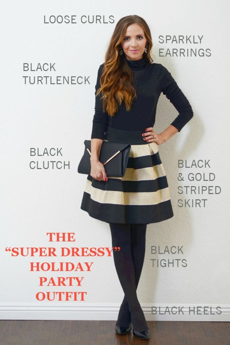 The Only 3 Holiday Party Outfits You Need (for Around $50!)