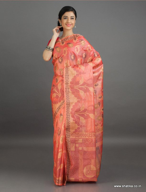 Nalini Outburst of #Design #BanarasiTussarSilkSaree