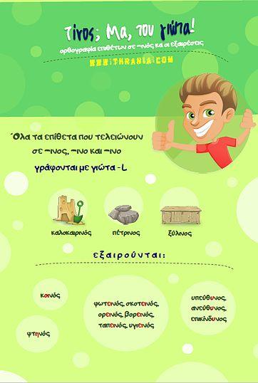 Δωρεάν φύλλα εργασίας για τη Γλώσσα της Β' Δημοτικού προς αποθήκευση και εκτύπωση για μαθητές, γονείς και δασκάλους.