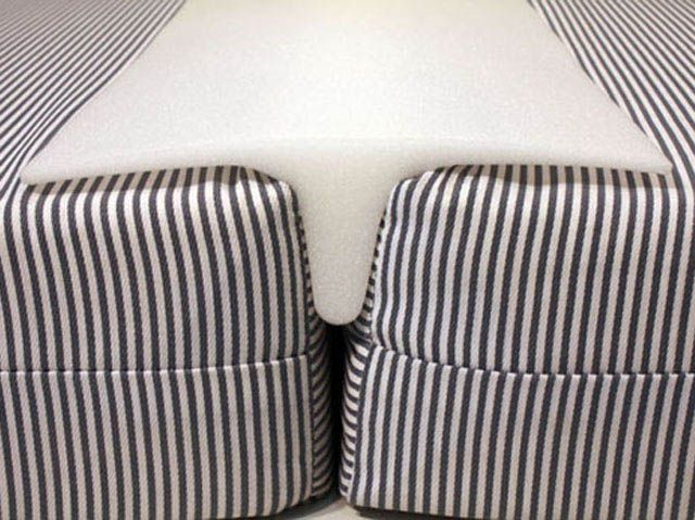 Awesome Foam Bed Bridge To Make A King Size Bed With 2 Custom Twins. Soft For