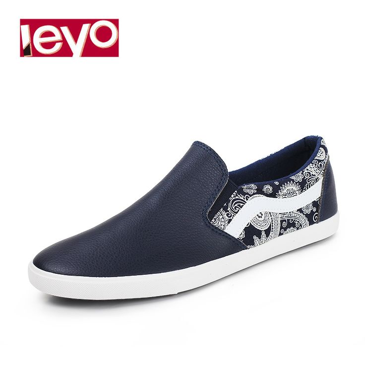 Find More Information about LEYO spring and autumn canvas shoes vintage print+solid pu man shoes casual shoes  slip on shoes,High Quality shoes stopper,China shoes lacoste Suppliers, Cheap shoes and free shipping from LEYO FOOTWEAR STORE on Aliexpress.com