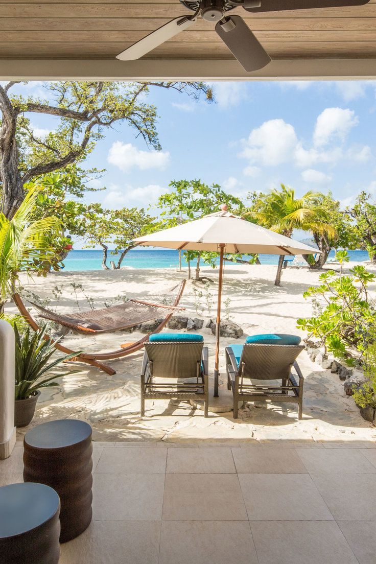 Spice Island Beach Resort All Inclusive - Saint George, Grenada - Seagrape Suites feature a separate sitting area and a hammock outside.