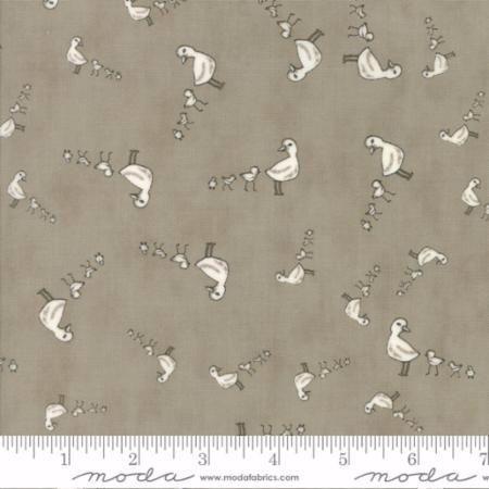 49005-14 Darling Little Dickens Ducklings Grey & Toast